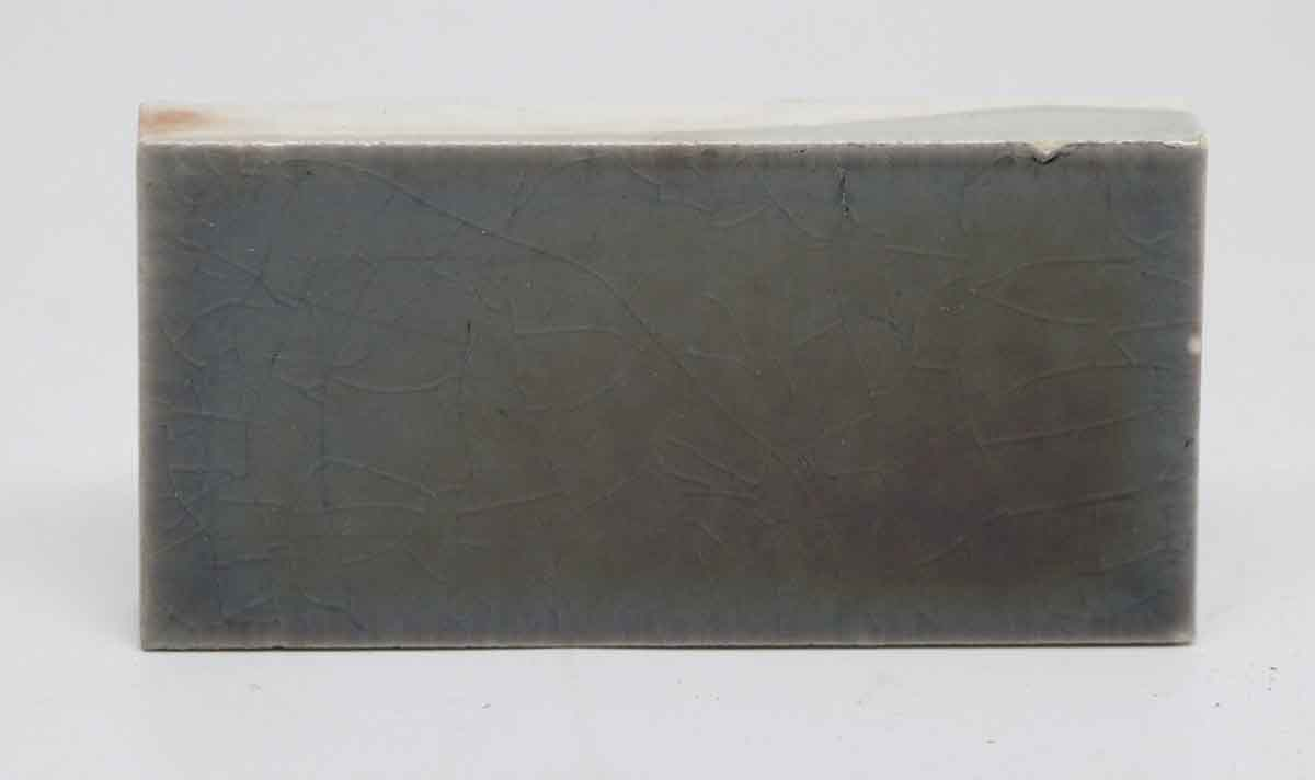 Set Of Seven Iridescent Gray Rectangle Tiles Olde Good