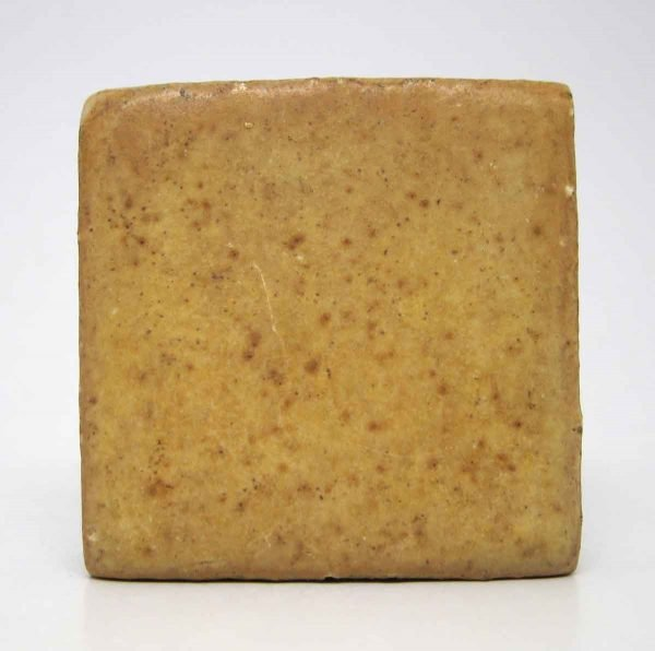 Set of 16 Mustard Colored Square Tiles