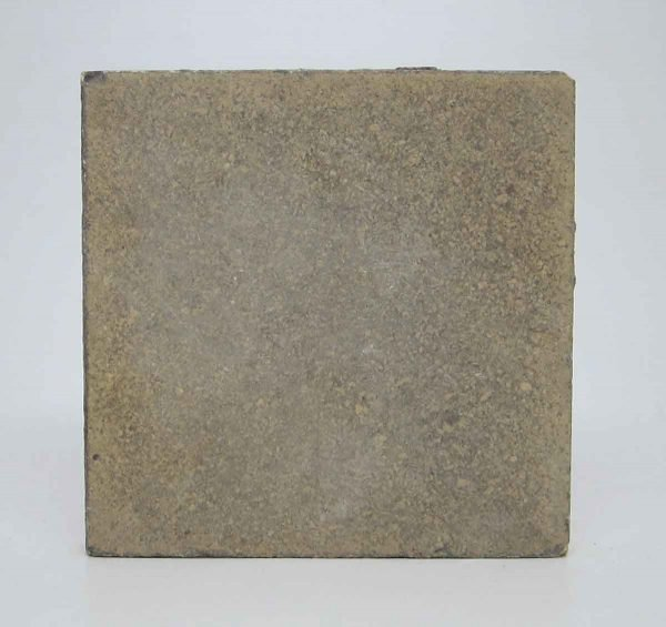 Set of 18 Square Tan Floor Tiles
