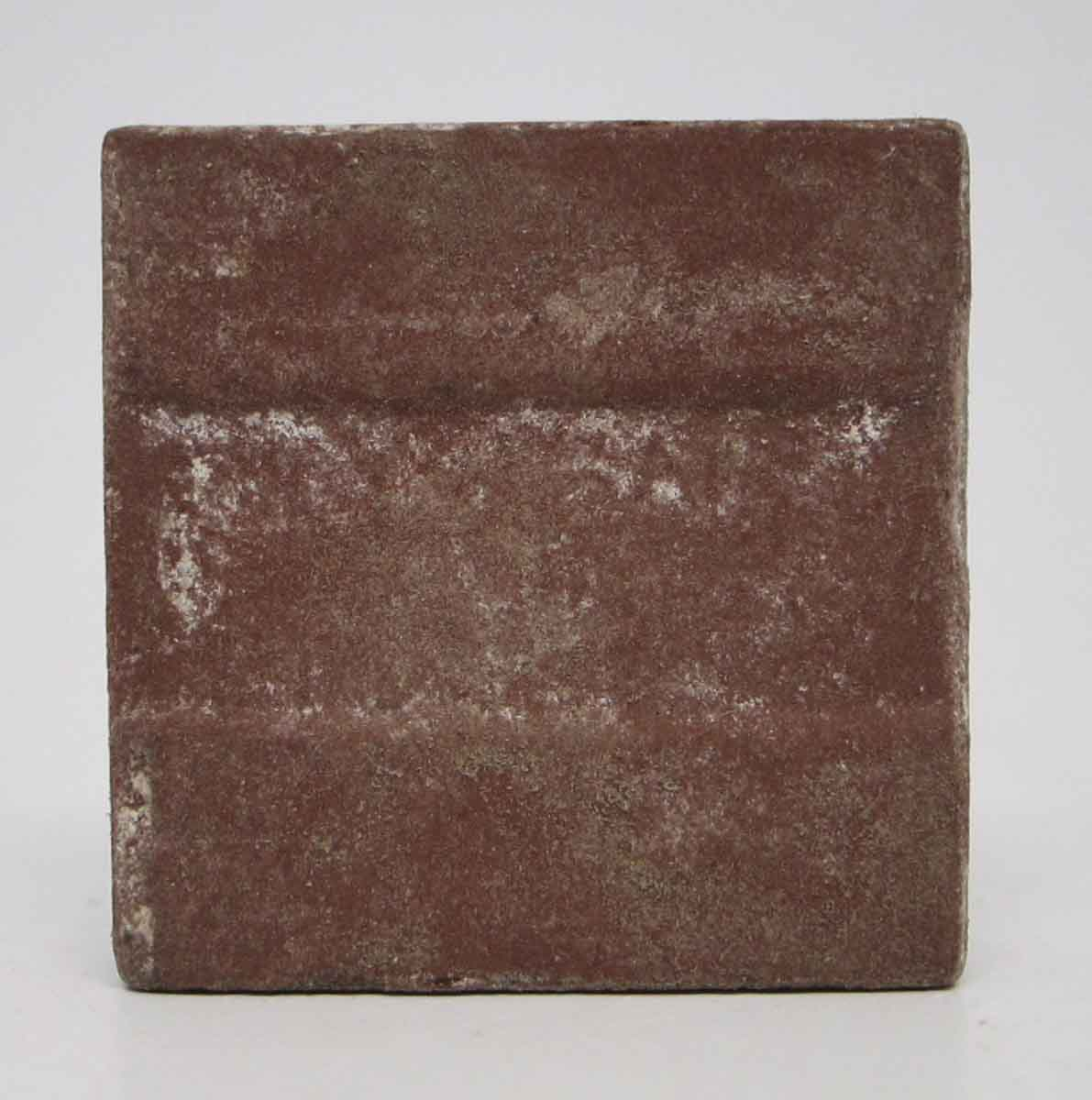 Set Of 55 Burgundy Small Square Floor Tiles Olde Good Things