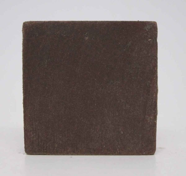 Set of 55 Burgundy Small Square Floor Tiles