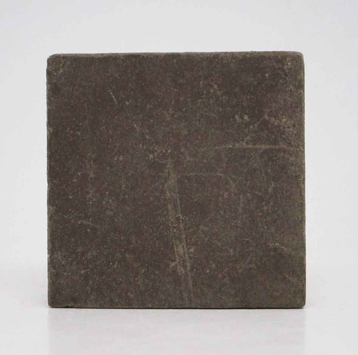 Set of Seven Brown Small Square Tiles
