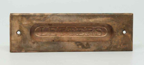 Bronze Letters Slot