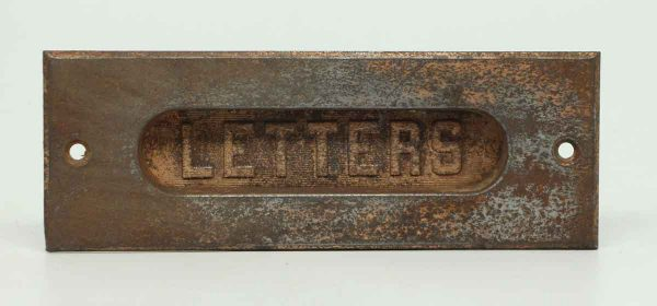 Thin Lightweight Letter Slot