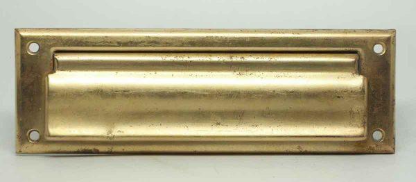 Polished Bronze Front Letter Slot