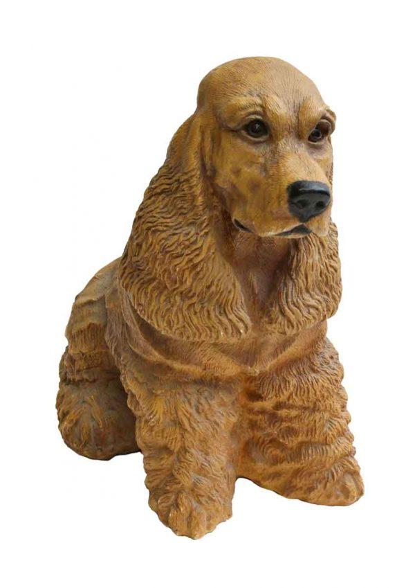Cocker Spaniel Dog Figure