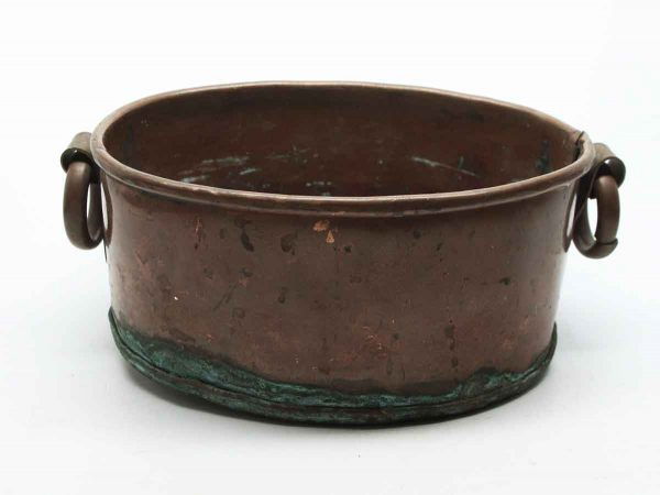 Copper Pot with Ring Handles