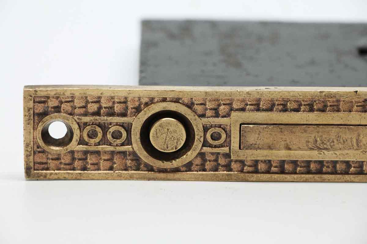 Eastlake Pocket Door Plate Lock Set Olde Good Things