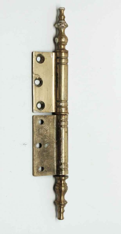 Set of Seven Brass Hinges