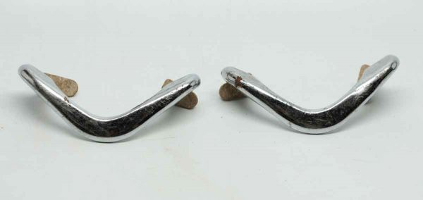 Pair of Chrome Boomerang Pulls