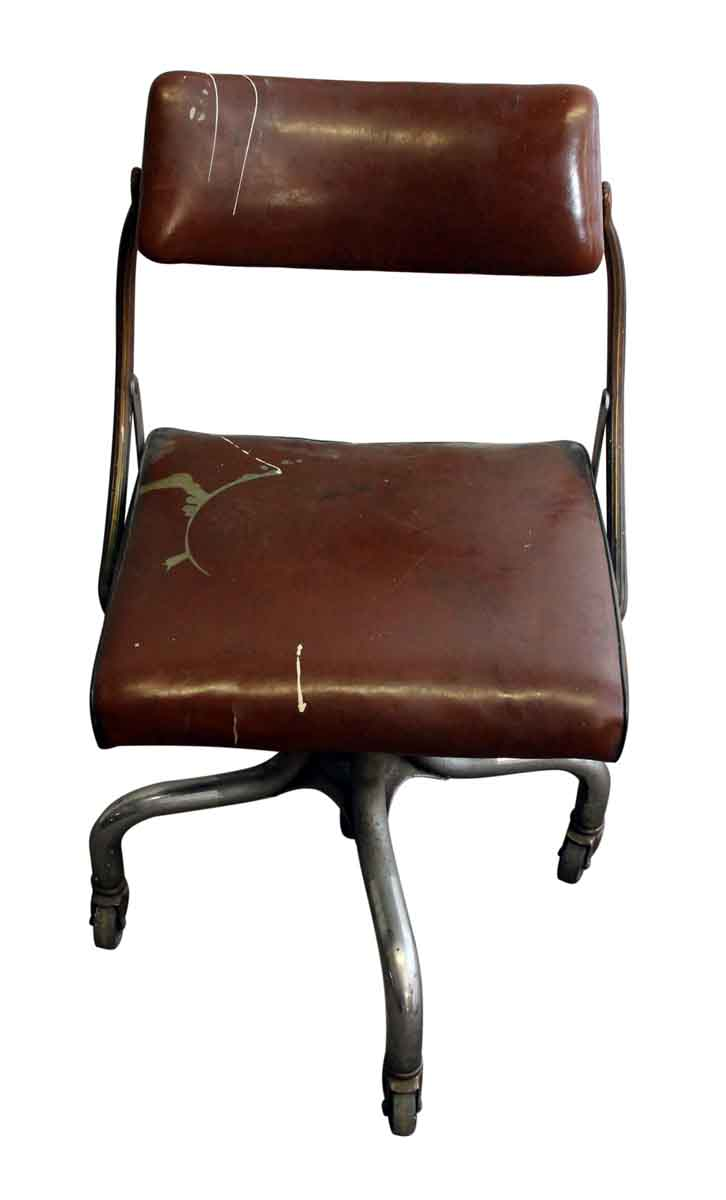 Vintage Upholstered Office Chair By Domore Olde Good Things