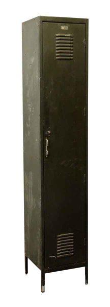 Tall Green Reclaimed Locker