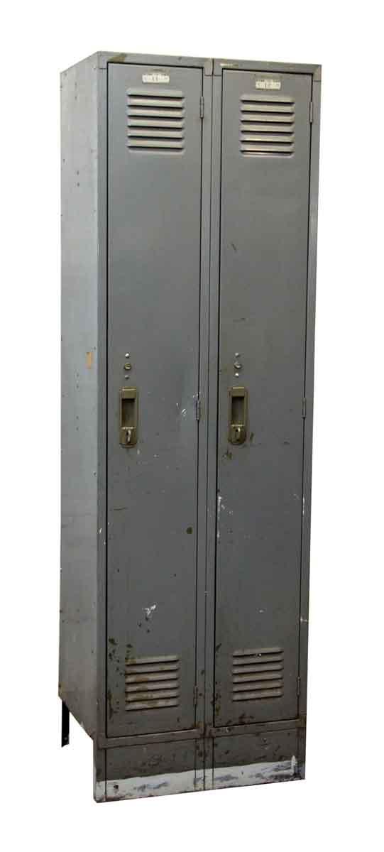 Double Metal Gray Locker