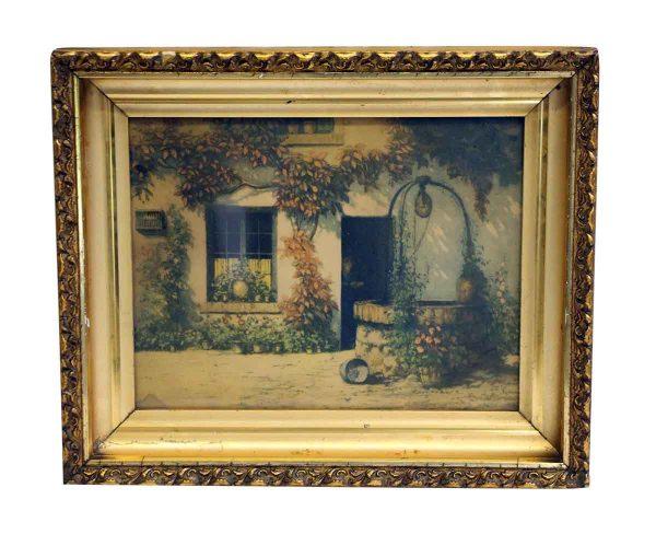 Ornately Framed Home Front Print
