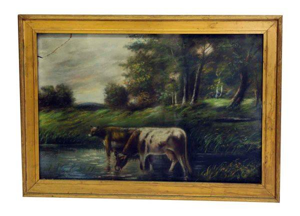 Framed Pasture Print