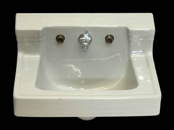 Retro Powder Blue Ceramic Sink