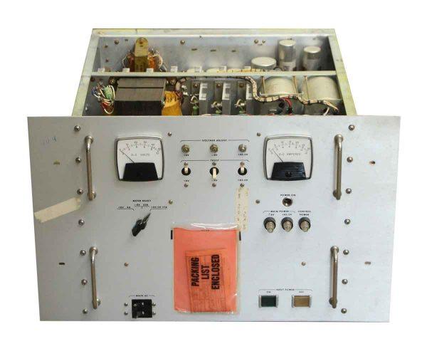 Large Military Volt Meter