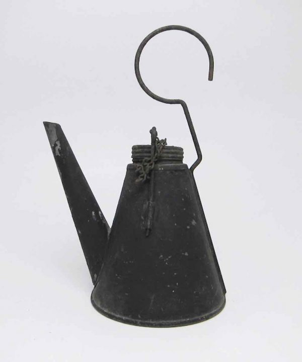 1910 Nautical Whale Oil Lanterns with Pouring Tin