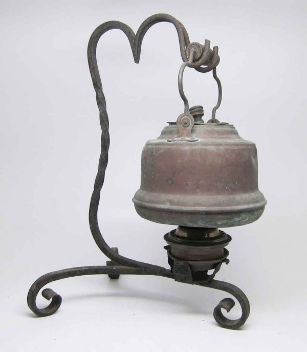 Copper & Iron Kerosene Tea Kettle