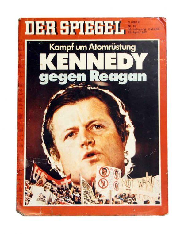 Vintage 1982 Kennedy Poster