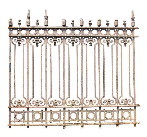 Heavy Cast Gate or Fence Section