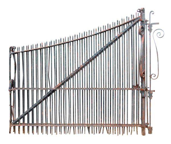 Massive Wrought Iron Driveway Gates 17 Ft. W