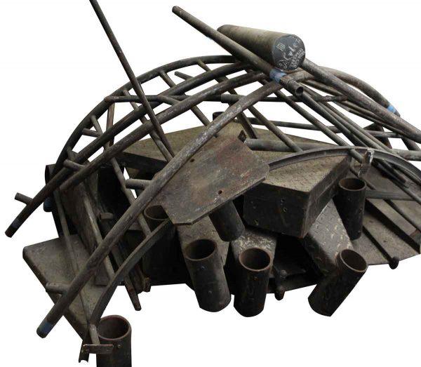 Mylen Cast Iron Industrial Spiral Staircase
