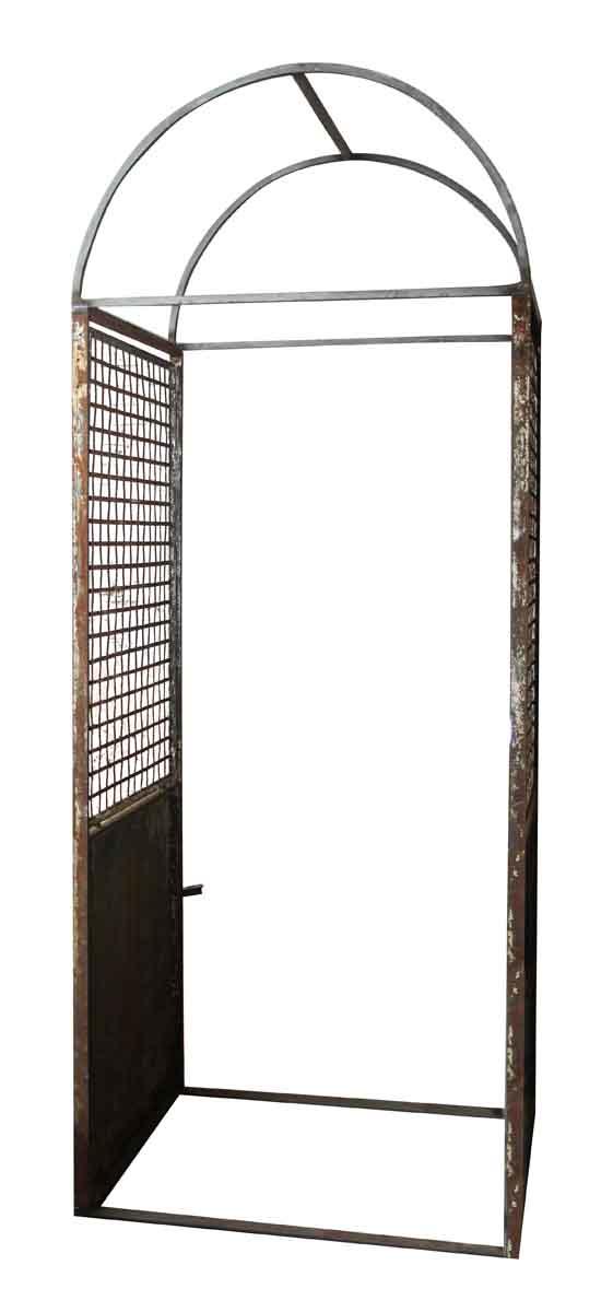 Wrought Iron Garden Trellis with Arch