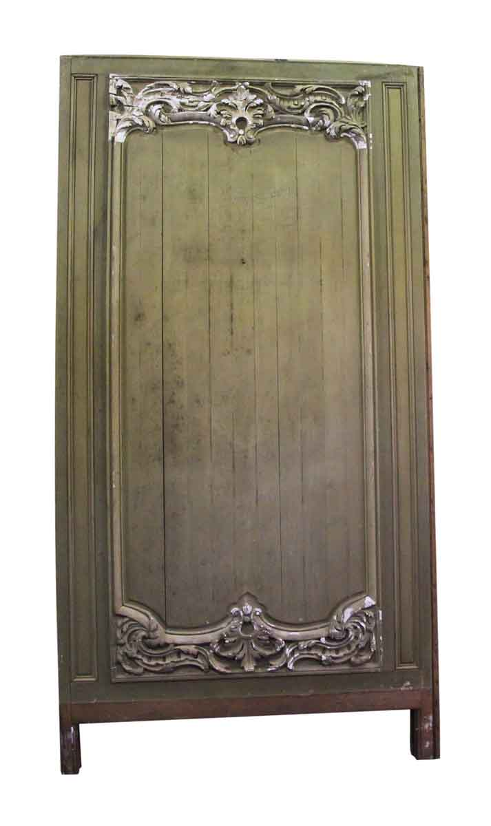 Carved French Provincial Wooden Panel Set Olde Good Things