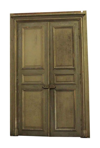 Architectural salvage doors vintage antique doors olde good things 19th century french provincial oversized doors planetlyrics Image collections