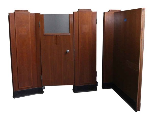 Set of Ten Art Deco Bank Cubicles