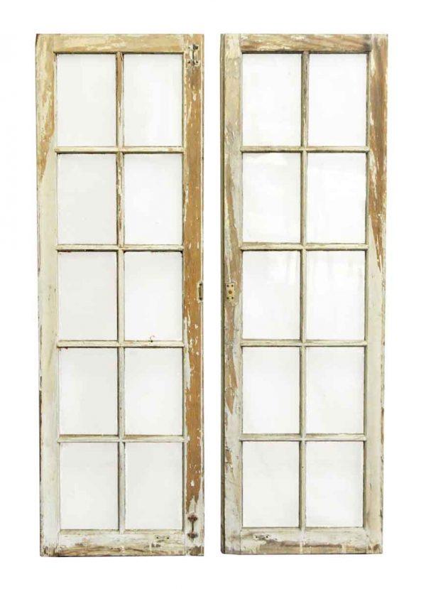 Reclaimed 10 Glass Pane Window