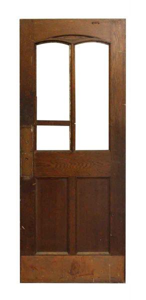 Half Glass Salvaged Interior Door
