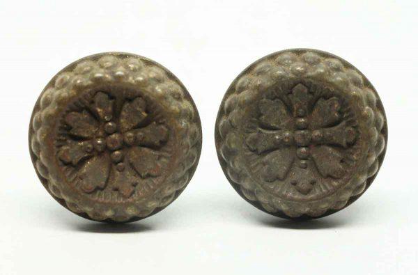 Pair of Gothic Flower Pulls