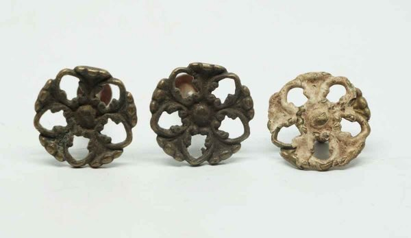 Trio of Cut Out Decorative Pulls