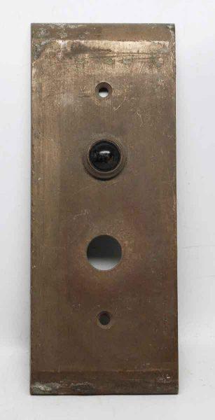 Simple Bronze Elevator Plates