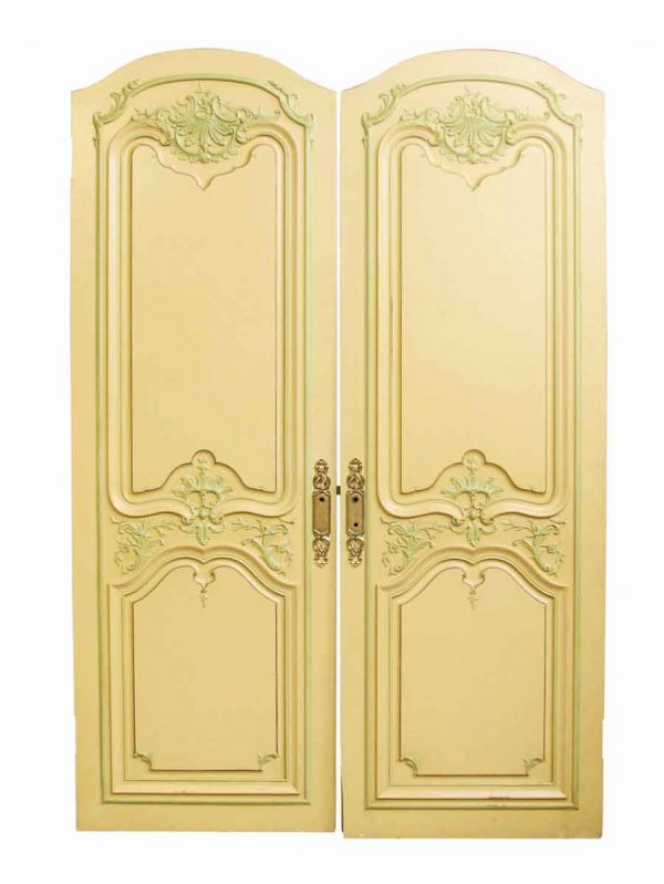 French Provincial Door with Carved Details