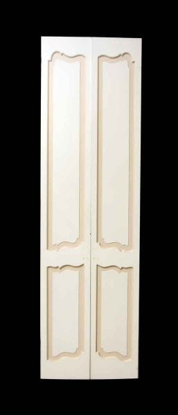 Pair of French Provincial Double Closet Doors