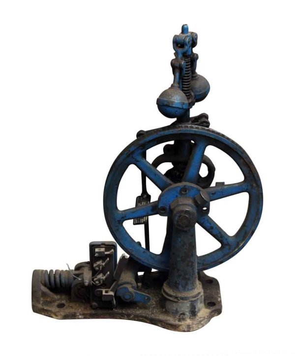 Reclaimed Vintage Elevator Speed Governor