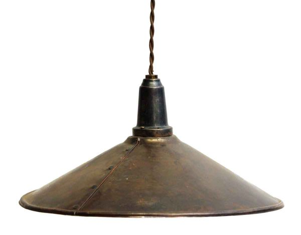 Industrial Copper Pendant Light
