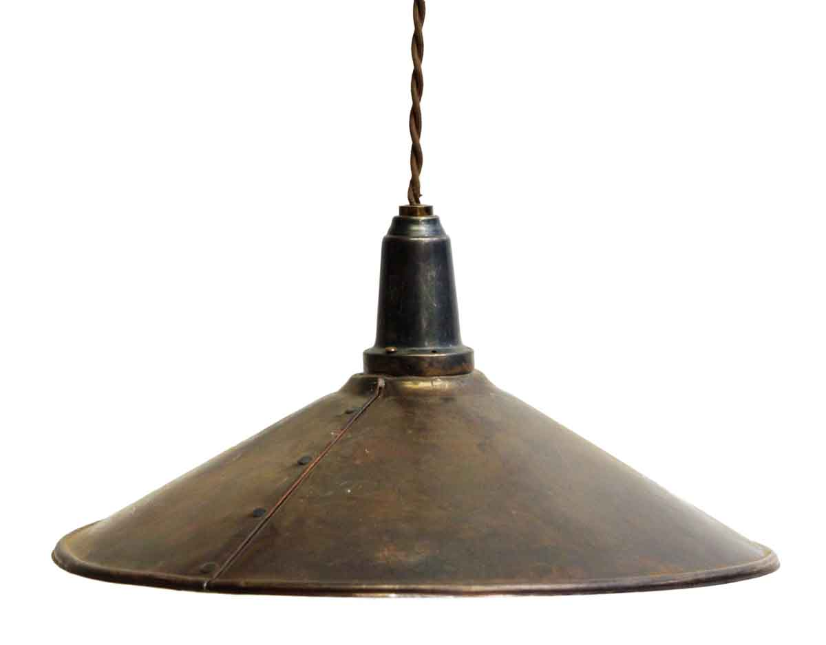 Industrial Copper Pendant Light | Olde Good Things