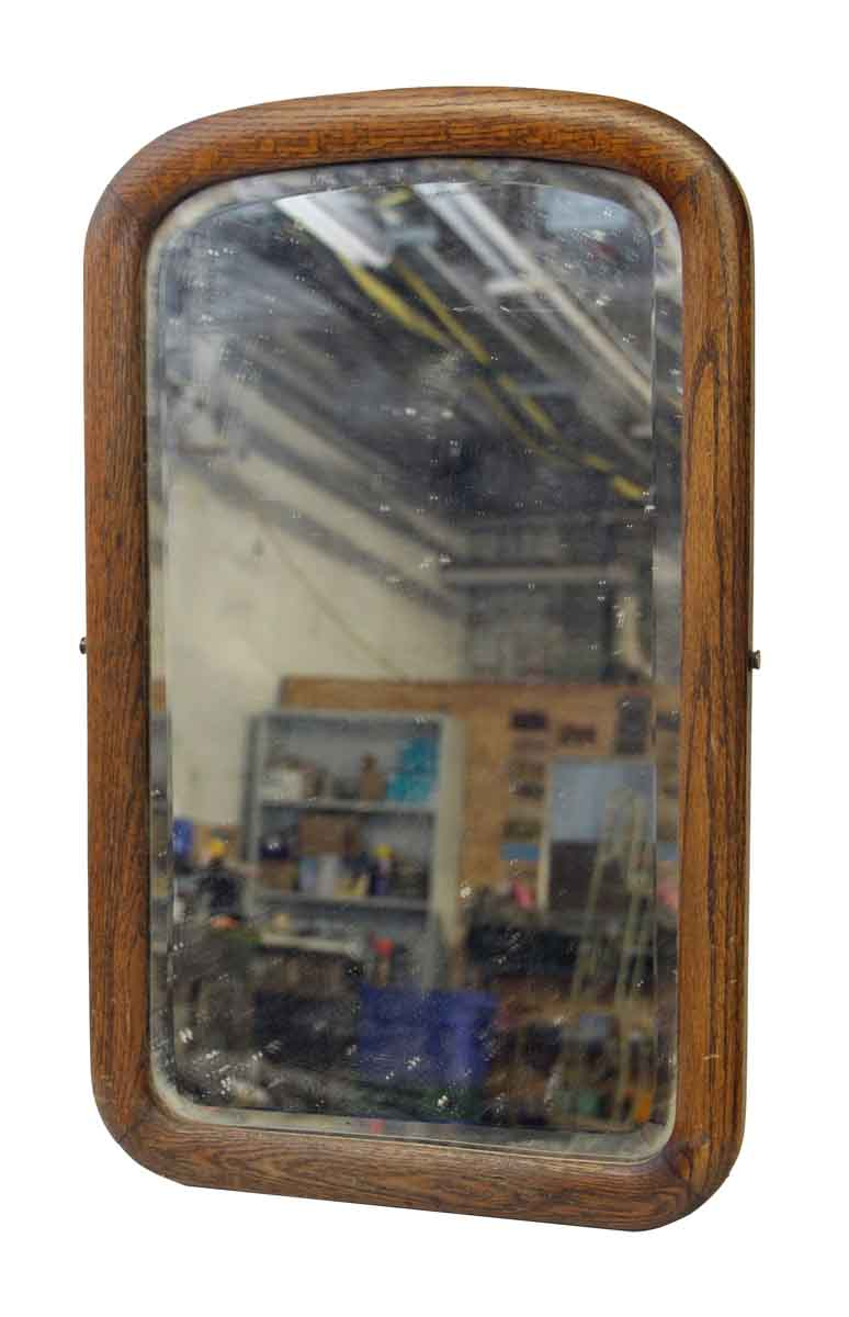 Arched Beveled Mirror With Wood Frame Olde Good Things