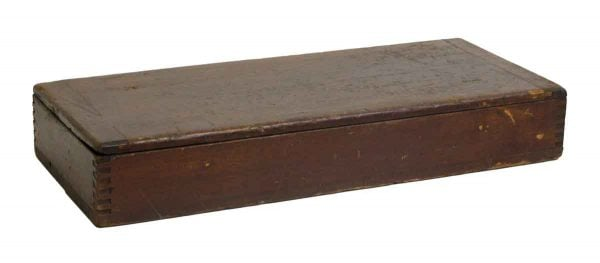 Old Wooden Gadget Box