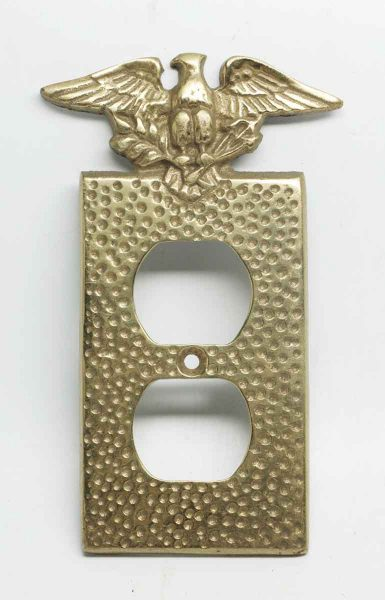 Replica Hammered Eagle Outlet Cover