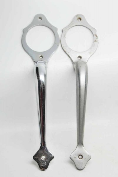 Pair of Chrome Door Handles