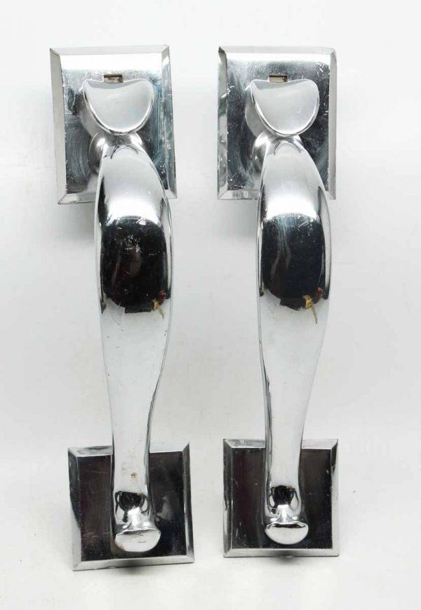Pair of Corbin Chrome Pulls