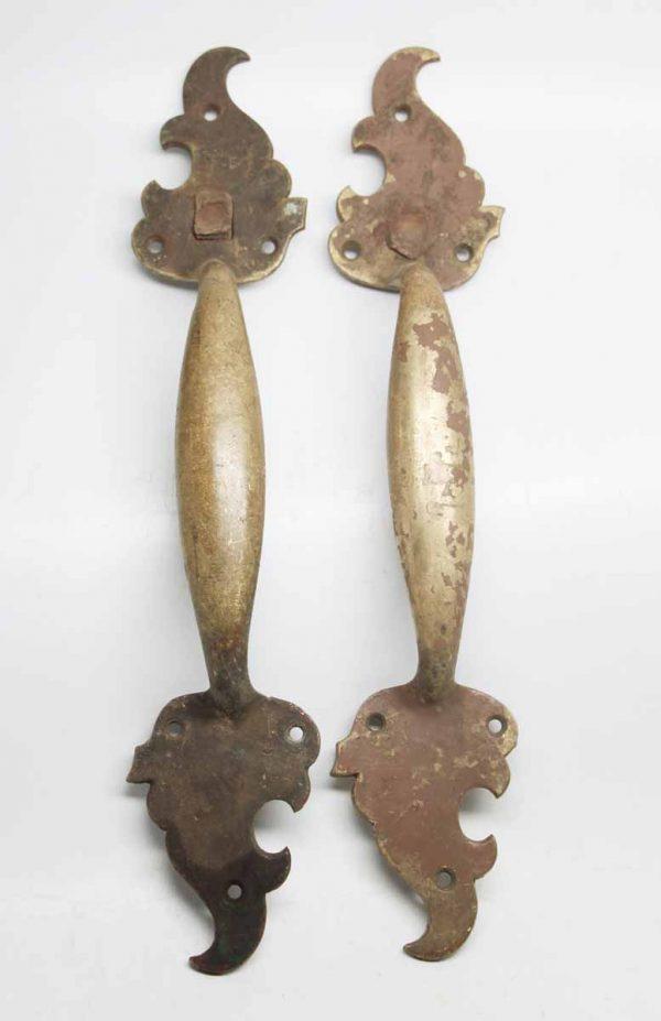 Pair of Bronze Handles
