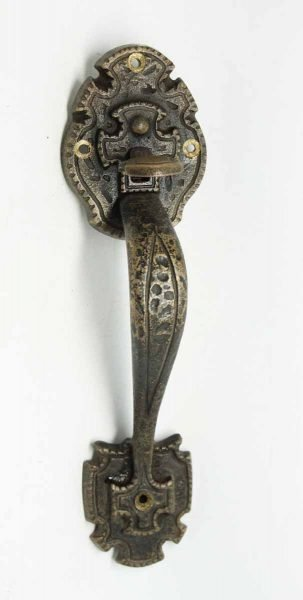 Pair of Hammered Gothic Handles
