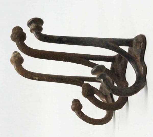 Set of Three Iron Double Hooks