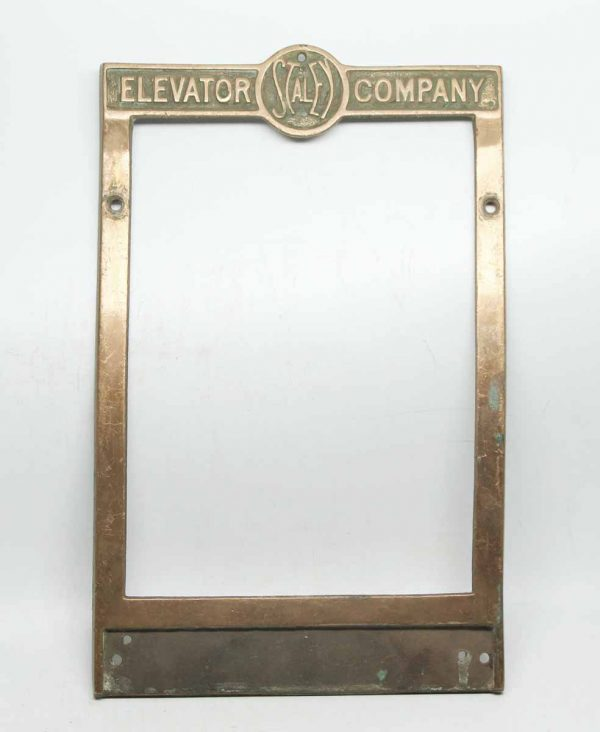 Staley Elevator Plate
